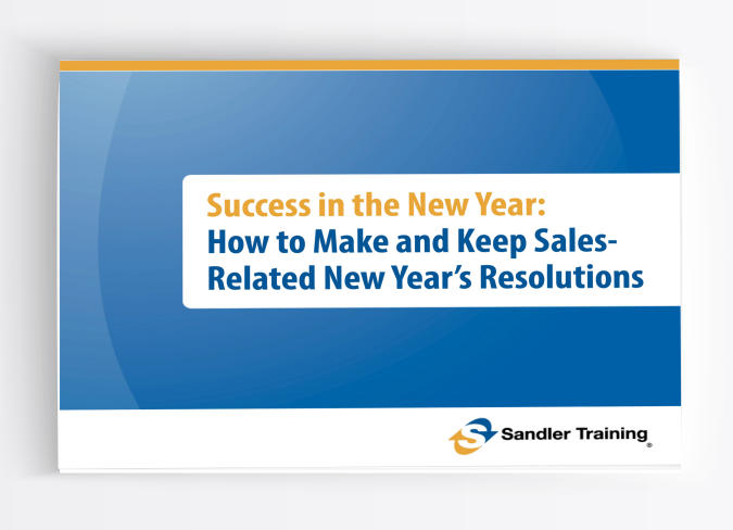 Success in the New Year: How to Make and Keep Sales-Related New Year's Resolutions